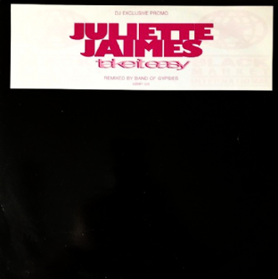 "Juliette Jaimes ‎- Take It Easy (Band Of Gypsies Remixes) (12"") (Promo) (VG-/G++)"